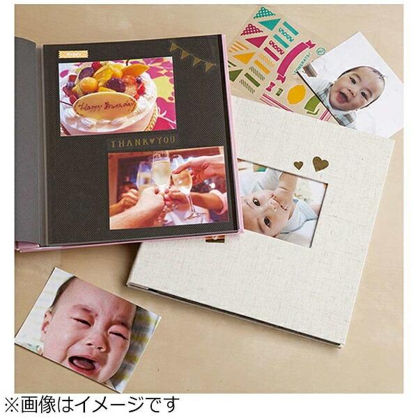 セキセイSEKISEIハーパーハウスミニフリーアルバム〈フレーム〉(ピンク)XP-1008[XP1008]