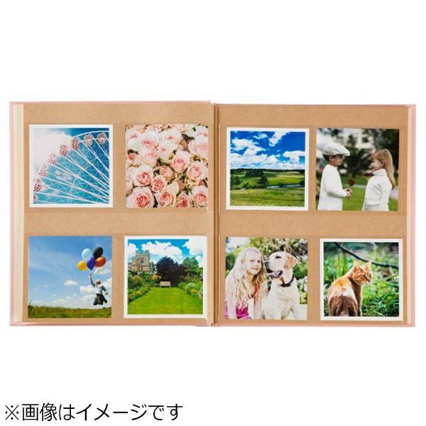 セキセイSEKISEIハーパーハウスましかくアルバム〈フレーム〉(ピンク)XP-8910[XP8910]