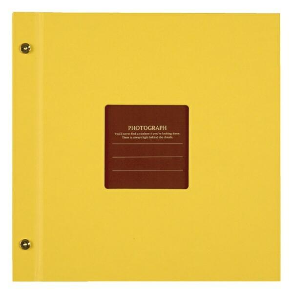 セキセイSEKISEIハーパーハウスましかくアルバム〈フレーム〉(イエロー)XP-8910[XP8910]