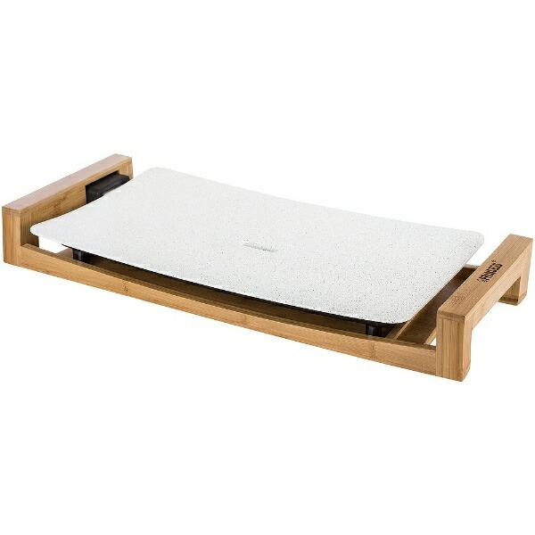 プリンセスPRINCESS103033ホットプレートTableGrillStoneホワイト[プレート1枚][テーブルグリルストーン]