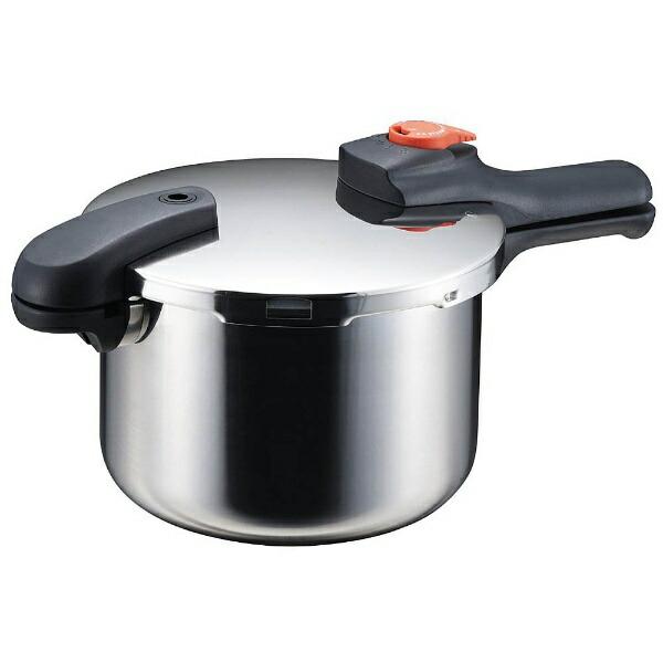 パール金属PEARLMETAL《IH対応》節約クックステンレス製圧力切替式片手圧力鍋(4.5L)H-5436[H5436]