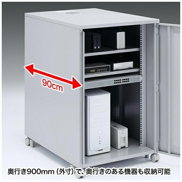 サンワサプライSANWASUPPLY19インチマウントボックス(高さ1000mm・19U)CP-203【メーカー直送・代金引換不可・時間指定・返品不可】