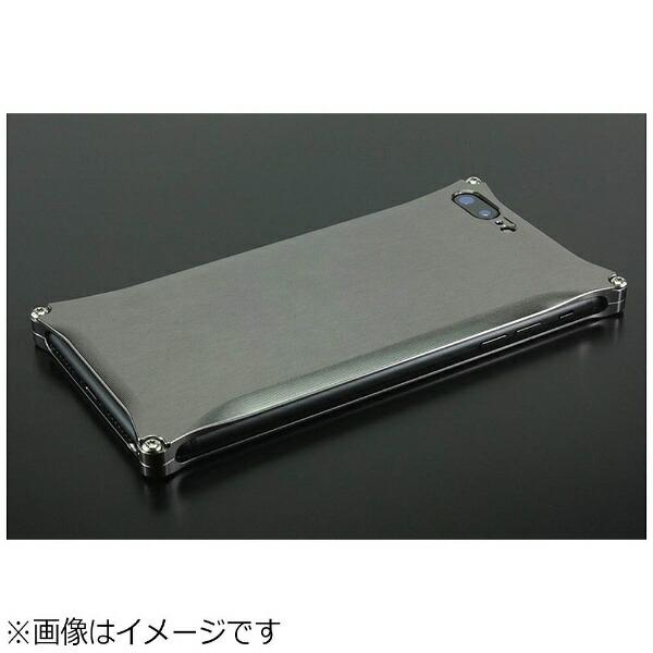 GILDdesignギルドデザインiPhone8Plus用ソリッドグレーGI-410GR