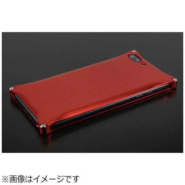 GILDdesignギルドデザインiPhone8Plus用ソリッドレッドGI-410R