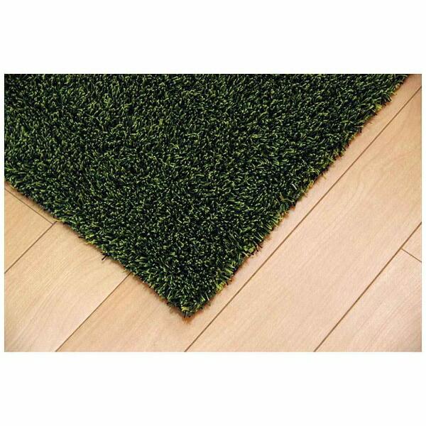 イケヒコIKEHIKOラグノベル(140×340cm/グリーン)