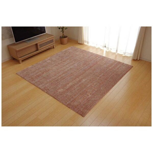 イケヒコIKEHIKOラグイリゼ平織(95×140cm/ベージュ)