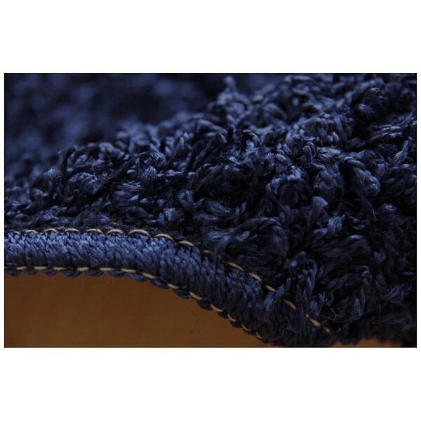 イケヒコIKEHIKOラグシャンゼリゼ平織(95×140cm/ネイビー)