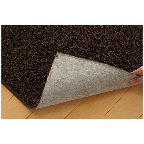 イケヒコIKEHIKOラグシャンゼリゼ平織(130×190cm/ブラウン)