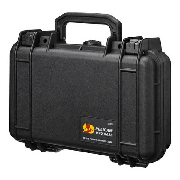 ペリカンPelican小型防水ハードケース1170HK(ブラック)