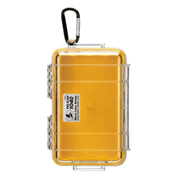 ペリカンPelican小型防水ハードケース1040HK(ブルー/クリア)