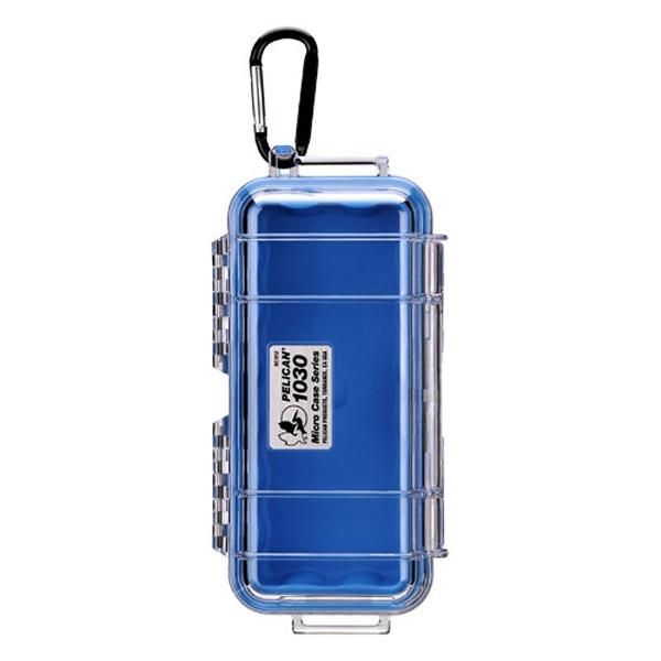 ペリカンPelican小型防水ハードケース1030HK(ブラック/クリア)