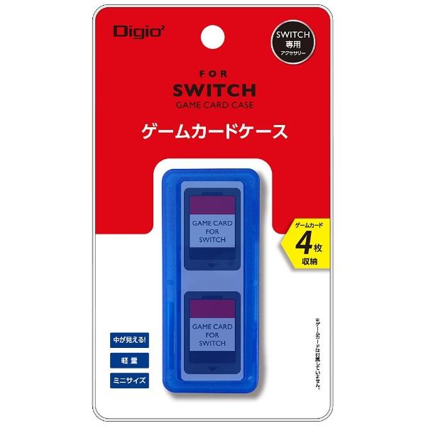 ナカバヤシNakabayashiSWITCH用ゲームカードケース4枚入ブルーMCC-SWI03BL[Switch]