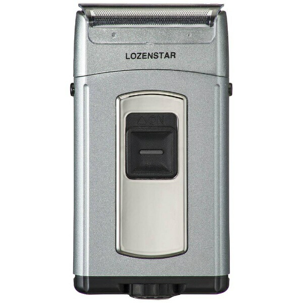 ロゼンスターLOZENSTAR水洗いポケそりメタリックグレーS-627[3枚刃][電気シェーバーS627]