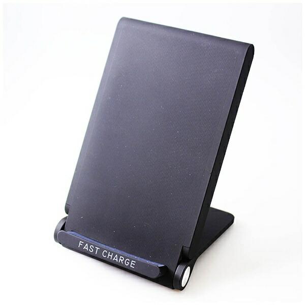 アイキューラボiQLaboワイヤレス充電器[Qi対応]Qi対応WirelessChargingStandCONSONブラックWC-FC-S-BK[ワイヤレスのみ][WCFCSBK]