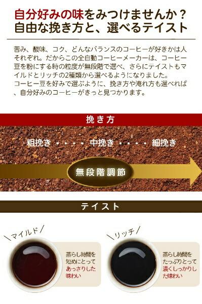 sirocaシロカコーン式コーヒーメーカーSC-C111[全自動/ミル付き][SCC111ブラックステンレスシルバ]【point_rb】
