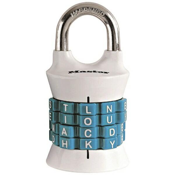 マスターロックMasterLockナンバー可変式南京錠1535JADWDTEALブラック
