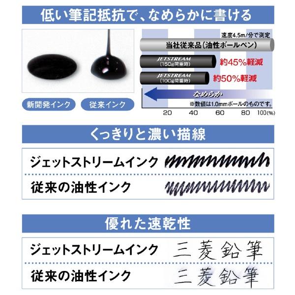三菱鉛筆MITSUBISHIPENCIL[油性ボールペン]ジェットストリームスタンダード5本セット黒(ボール径:0.5mm、インク色:黒)