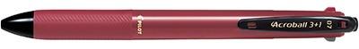パイロットPILOT[多機能ペン]アクロボール3+1(ボール径:0.7mm、芯径:0.5mm)BKHAB-50F-BGバーガンディー