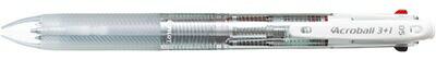 パイロットPILOT[多機能ペン]アクロボール3+1(ボール径:0.5mm、芯径:0.5mm)BKHAB-50EF-Nノンカラー