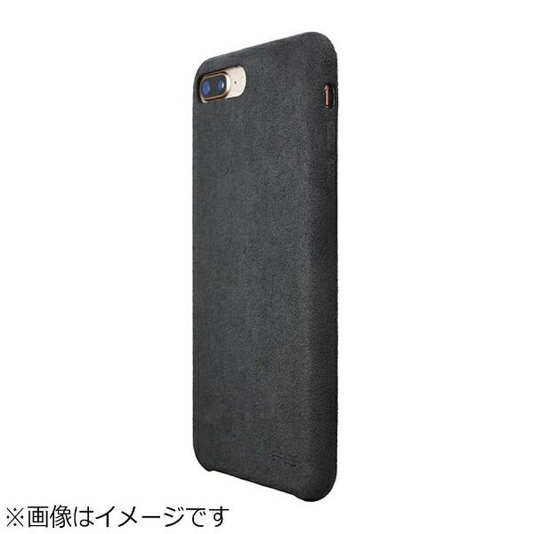 パワーサポートPOWERSUPPORTiPhone8Plus用UltrasuedeAirJacketアスファルトPBK-80