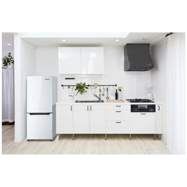 ハイセンスHisense冷蔵庫小型一人暮らしHR-D15C冷蔵庫パールホワイト[2ドア/右開きタイプ/150L][冷蔵庫小型一人暮らし新生活新品HRD15C]