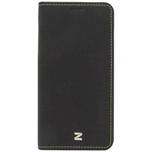 ROAロアiPhoneX用手帳型BuffaloDiaryブラックZ10310I8