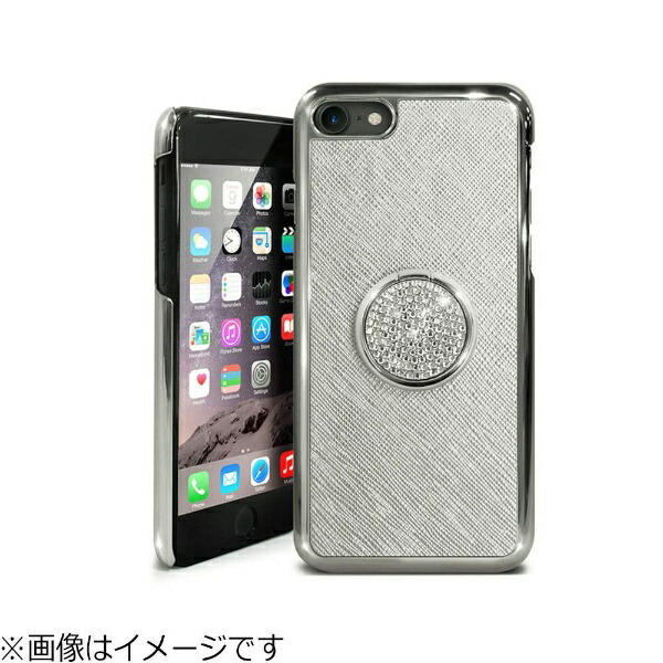 ROAロアiPhone8SmartRingBarシルバーDP10171I7S