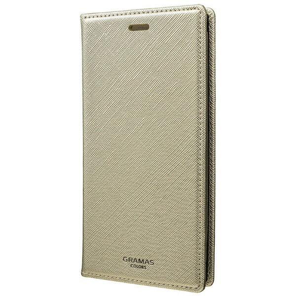 坂本ラヂヲiPhoneX用EUROPassione手帳型レザーケースbookLeatherCaseシルバーCLC60317SLV