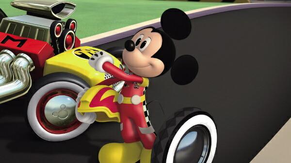 ウォルト・ディズニー・ジャパンミッキーマウスとロードレーサーズ/みんなでゴー!【DVD】