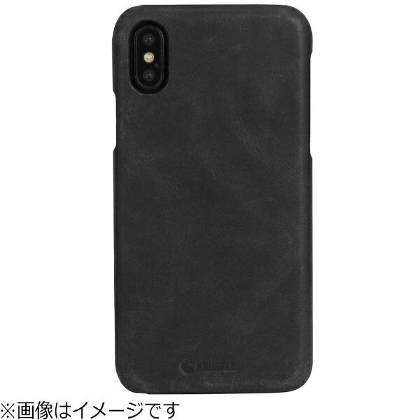 KRUSELLクルーセルiPhoneX用SunneCoverAppleVintageブラック61105