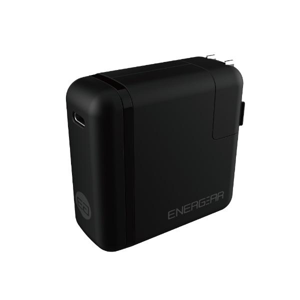 GOPPAゴッパ[Type-C]AC-Type-C充電器65W5A+Type-C⇔Type-Cケーブル1.8mEnergearブラックE00460A1CBLKUS[1ポート/USBPowerDelivery対応]