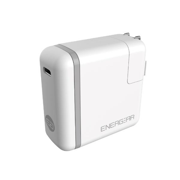 GOPPAゴッパ[Type-C]AC-Type-C充電器46WUSBPD対応5A+Type-C⇔Type-Cケーブル1.8m(1ポート・ホワイト)E00460A1CWHTUS