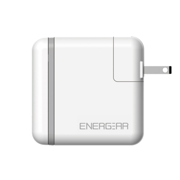 GOPPAゴッパ[Type-C]AC-Type-C充電器65W5A+Type-C⇔Type-Cケーブル1.8mEnergearホワイトE00650A1CWHTUS[1ポート/USBPowerDelivery対応]