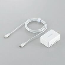 エレコムELECOM[Type-C]AC-Type-C充電器USBPD対応3A+Type-C⇔Type-Cケーブル2m(1ポート・ホワイト)ACDC-CPS200WH