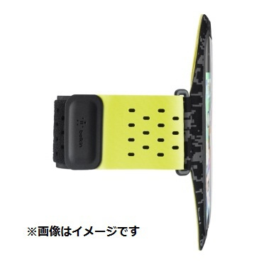 BELKINベルキンiPhone8用SportsFitProアームバンドブラック/イエローF8W847btC00