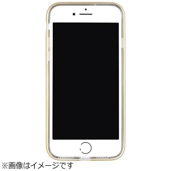 パワーサポートPOWERSUPPORTiPhoneSE(第2世代)4.7インチ/iPhone8用ShockproofAirJacketラバーゴールドPBY-51