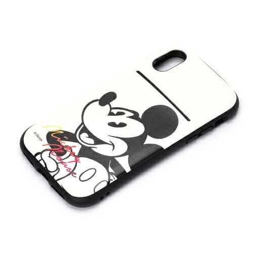 PGAiPhoneX用ディズニータフポケットケースミッキーマウス・ホワイトPG-DCS300MKY