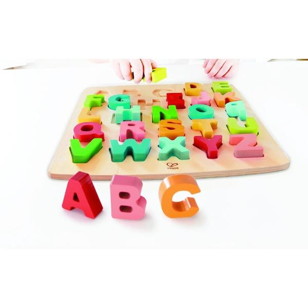 HAPEハペE1551Aアルファベットパズル(大文字)