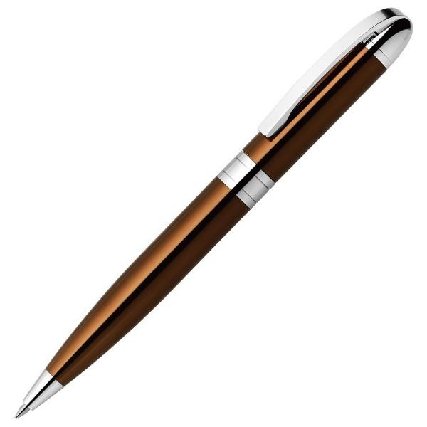 ゼブラZEBRA[油性ボールペン]フォルティアVCブラウン(ボール径:0.7mm)BA93-E