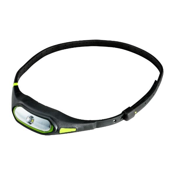 ELPAエルパLEDネックライト「LEDSPORTSLIGHT」(50lm)DOP-SL600-GRブラック×グリーン