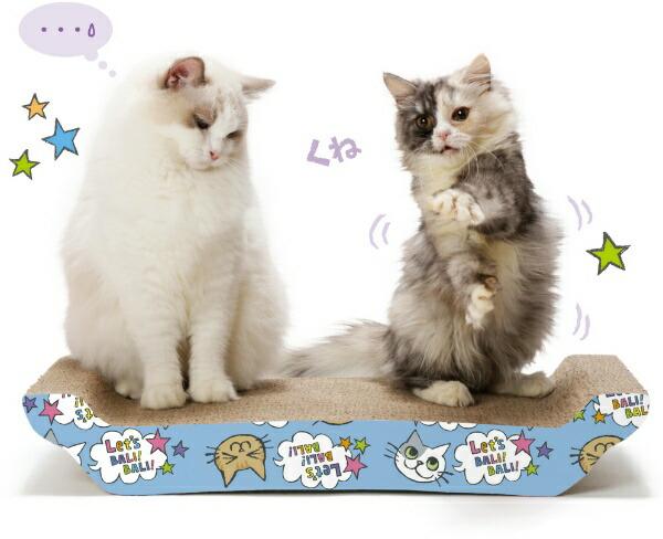 猫壱necoichiバリバリベッドL猫柄【rb_pcp】