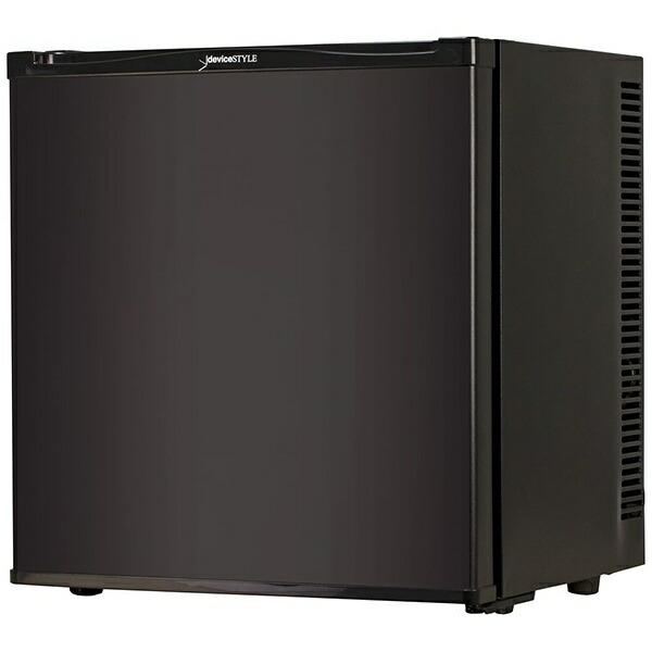 デバイスタイルdeviceSTYLE《基本設置料金セット》冷蔵庫黒RA-P20FL-K[1ドア/左開きタイプ/20L][冷蔵庫一人暮らし小型RAP20FLK]