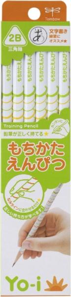 トンボ鉛筆Tombow[鉛筆]Yo-iもちかたえんぴつ三角軸1ダースKE-EY02-2B