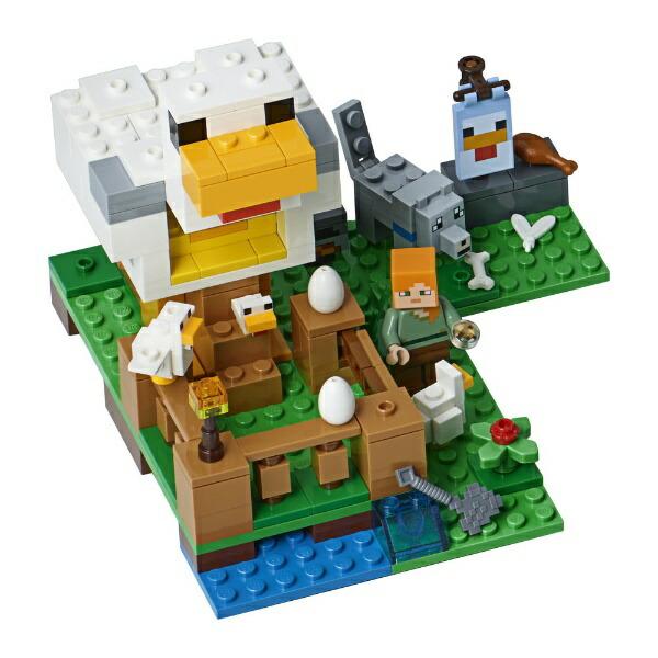 レゴジャパンLEGO21140マインクラフトニワトリ小屋