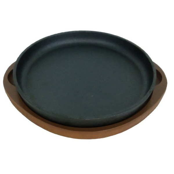 パール金属PEARLMETALスプラウト鉄鋳物製ステーキ皿丸型(20cm)HB3056[HB3056]