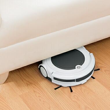 ツカモトエイムTSUKAMOTOAIMAIM-RC21ロボット掃除機ecomo(エコモ)ピュアホワイト[AIMRC21WTお掃除ロボット]