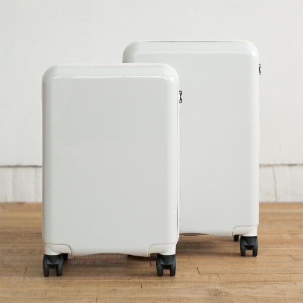TAGlabelbyamadanaタグレーベルバイアマダナ【ビックカメラグループオリジナル】スーツケースtrolleysuitcseAT-SC11S(WH)メタリックホワイト[TSAロック搭載/ハードジッパー]【point_rb】