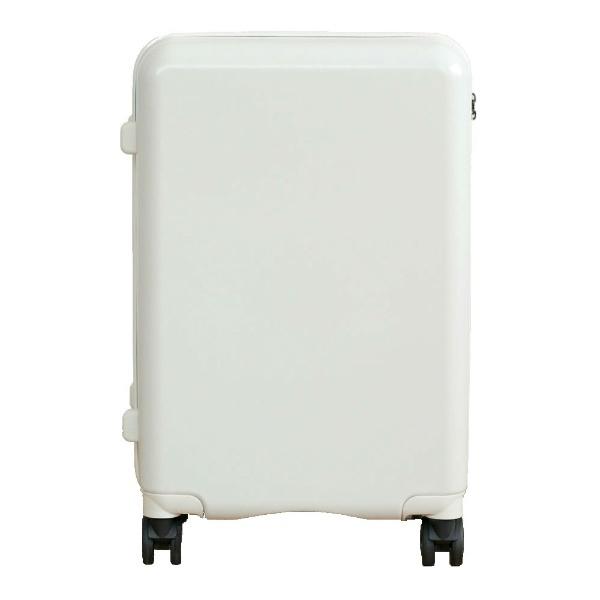 TAGlabelbyamadanaタグレーベルバイアマダナ【ビックカメラグループオリジナル】スーツケースtrolleysuitcseAT-SC11M(MWH)マットホワイト[TSAロック搭載/ハードジッパー]【point_rb】