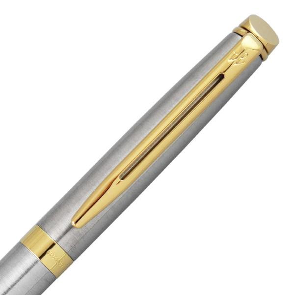 ウォーターマンWATERMAN[ボールペン]メトロポリタンエッセンシャルWMMTESステンレスGTBP
