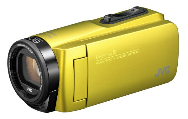 JVCジェイブイシーGZ-R480ビデオカメラEverioR(エブリオR)シトロンイエロー[フルハイビジョン対応/防水+防塵+耐衝撃][GZR480Y]